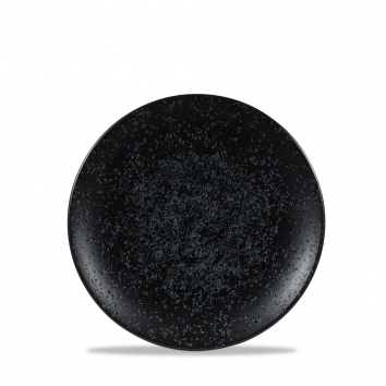 Art de Cuisine Menu Shades Caldera Ash Black coupe plate 16 cm