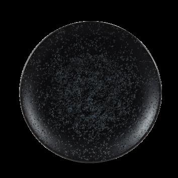 Art de Cuisine Menu Shades Caldera Ash Black coupe plate 27 cm