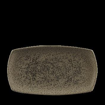 Art de Cuisine Menu Shades Caldera Flint Grey oblong plate 35,5 x 19 cm