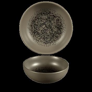 Art de Cuisine Menu Shades Caldera Flint Grey bowl 16 cm 48 cl