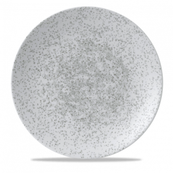 Art de Cuisine Menu Shades Caldera Chalk White coupe plate 29 cm