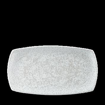 Art de Cuisine Menu Shades Caldera Chalk White oblong plate 35,5 x 19 cm