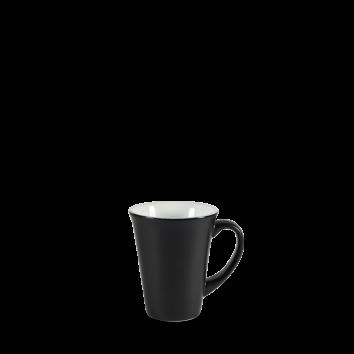 Art de Cuisine Menu Shades Ash Black flared mug 34 cl