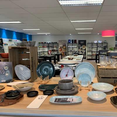 700 m² showroom